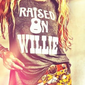 RESTOCKED • Raised on Willie Graphic Tee